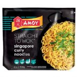 Amoy Straight To Wok Singapore Curry Noodles 2 x150g